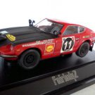 Nissan Fairlady 240Z #11 Safari Rally red/semi gross black 1/43 die cast model car