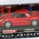 Porsche Boxster S red 1/72 die cast model car