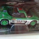 Takata Dome NSX #18 0054 2004 series green 8cm die cast model car