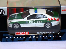 Mercedes Benz Germany polizie #511 (E55 AMG) 1/72 die cast model car