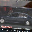 BMW 7 series deep blue 1/72 die cast model car