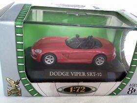 Dodge Viper SRT-10 red 1/72 die cast model car