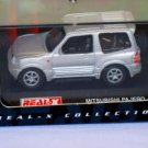 Mitsubishi Pajero short silver 1/72 die cast model car