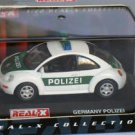 New Beetle Germany Polizei 1998 green/white 1/72 die cast model car