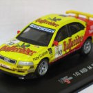 Audi A4 STW yellow 1/43 die cast model car
