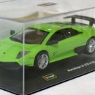 Lamborghini Murcielago LP 670-4 SV green 1/32 die cast model car (Rare)