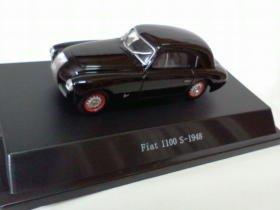 Fiat 1100 S 1948 black 1/43 die cast model car