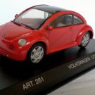 Volkswagen Concept 1 1994 red/black 1/43 die cast model car (Rare)