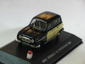 Renault 4L Parisienne 1964 1/43 die cast model car