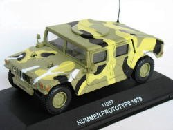 Hummer Prototype 1979 1/43 die cast model car (Rare)