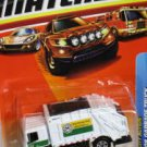 Matchbox City Action 2008 Garbage Truck White 7cm Die Cast Model Car