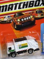 Matchbox City Action 2008 Garbage Truck White 7cm Die Cast Model Car