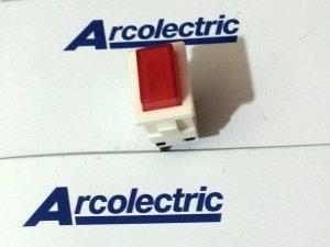 Push Button Switch On-Off w/ light Single Pole 8(8)A 250Vac & 12(12)A 250Vac (Lot of 5 pcs)