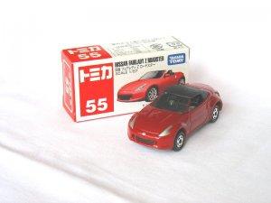 Tomy Nissan Firelady Z Roadster Red  #55 1/57 Die Cast Model Car