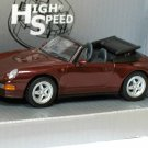 Porsche 911 Carrera Cabrio 1995 Open Convertible 1/43 Die Cast Model Car