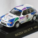 Mazda 323 GT-R 1993 Sanremos #19 1/64 die cast model car