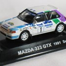 Mazda 323 GTX 1991 Swedishs #1 1/64 die cast model car
