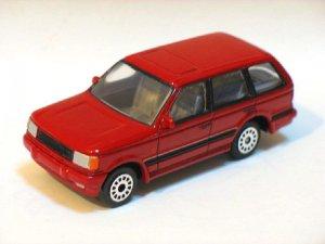 Range Rover Red 1/64 Die Cast Model Car