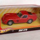 Hotwheels Ferrari 250 GTO Red 1/43 Die Cast Model Car