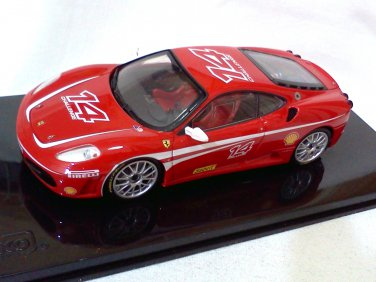 Ferrari F430 Challenge #14 red 1/43 die cast model car