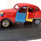 Citroen 2CV Picasso 2007 red high quality 1/43 Resin Model Car