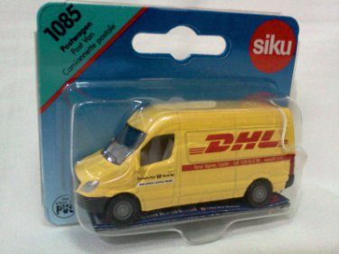 Mercedes Benz Post Van DHL Yellow 8cm die cast model car