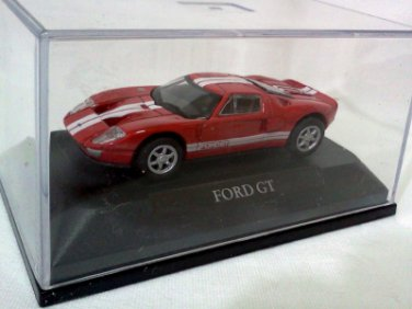 Ford GT red/white 1/72 Die Cast Model Car (Rare)