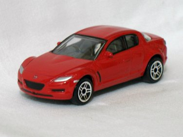 Mazda RX8 Red 1/58 Die Cast Model Car