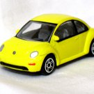 Volkswagen New Beetle Yellow 1/57 Die Cast Model Car