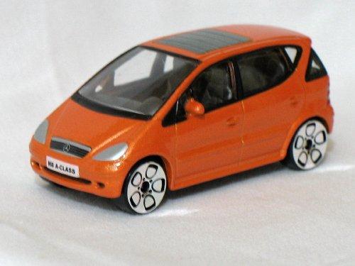 Mercedes Benz MB A-Class orange 1/56 die cast model car