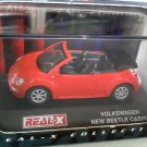 Volkswagen New Beetle Cabrio Red #121 1/72 Die Cast Model Car