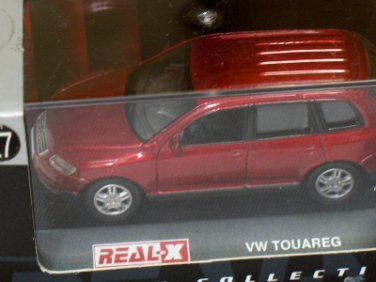 Volkswagen Touareg Red #127 1/72 Die Cast Model Car