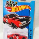 Hotwheels '70 Toyota Celica #22 red Die Cast Model Car