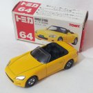Honda S2000 #64 Yellow 1/57 Die Cast Model Car