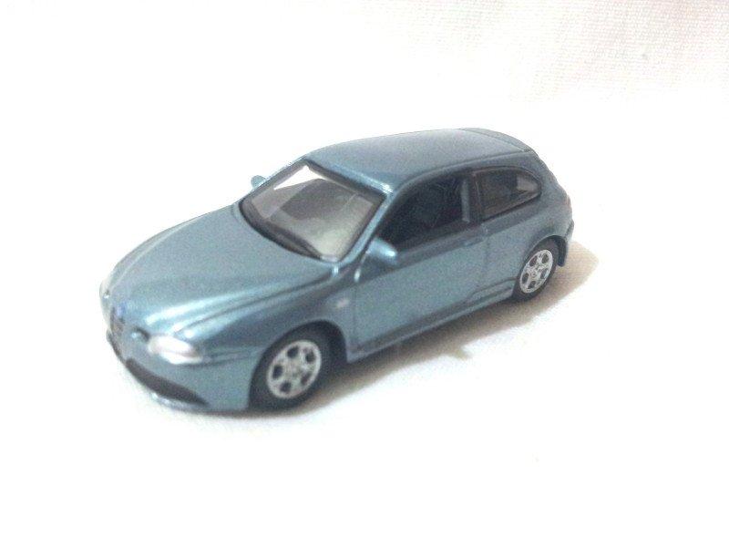 Alfa Romeo 147 GTA   Light Steel Blue 1/72 Die Cast Model Car
