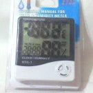 Temperature and Humidity Meter with Clock