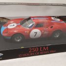 Ferrari 250LM 12 Hours of Reims 1964  #7 1/18 Die Cast Model Car (5000 pcs only)