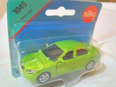 BMW 545i Green  8.5cm die cast model car