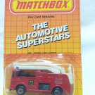 Matchbox Dodge Challenger The Automatic Superstar Fire Engine Die Cast Model Car