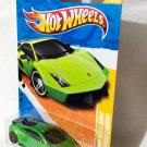 Hotwheels Lamborghini Gallardo LP570-4 Superleggera Green Die Cast Model Car