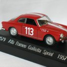ALFA ROMEO GUILIETTA SPRINT 1957 #113  1/43 die cast model car