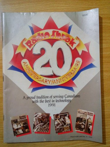 Radio Shack 20 Annersary Electronics Catalogue 1991 Rare