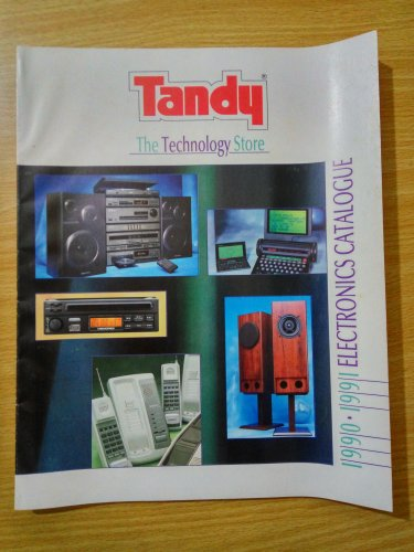 Tandy Electronics Catalogue 1990.1991 Rare