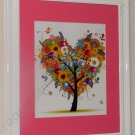 Tree of LOVE - Elegant Framed Art