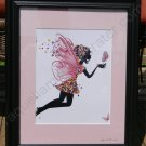 Glitter Fairy  -  Framed Girlie-Girl Art