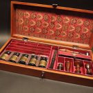 Antique Vintage Style Wax Seal Writing Kit Wood Box Nib Holder Pens Ink