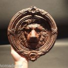 Antique Vintage Style Cast Iron Lion Head DOOR KNOCKER Hardware