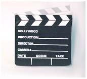 Small Director's Clapboard / Clapper / Slate - 2388
