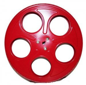 Metal Movie Reels Red ( For 35 mm Film) - 2566