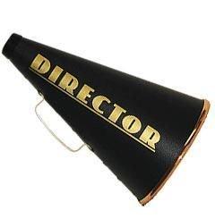 Director's Megaphone - Large - 6065